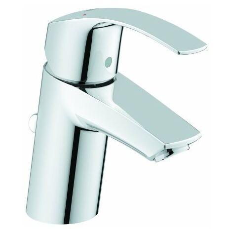 Mezclador monomando para lavabo Grohe Eurosmart, tamaño S con desagüe, EcoJoy - 33265002