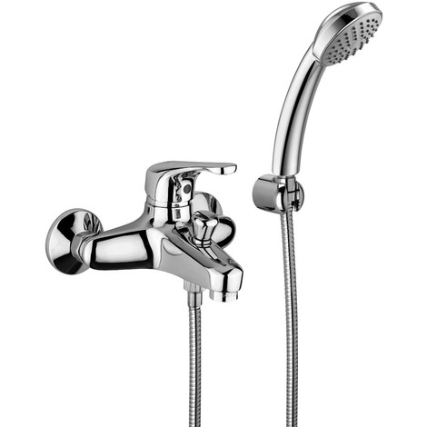 Mezclador para bañera con set de ducha Paffoni denver DE026