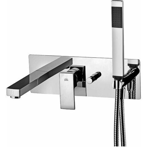Mezclador para bañera empotrado Paffoni ELLE-EFFE EL001-EF001