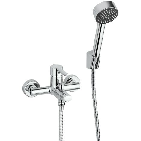 Mezclador para bañera Piralla Serena 0SE00003A16 | Cromo - Con set de ducha