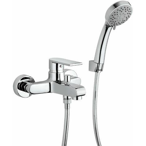 Mezclador para baño-ducha con equipo Paini Ghibli 44CR100   Cromo
