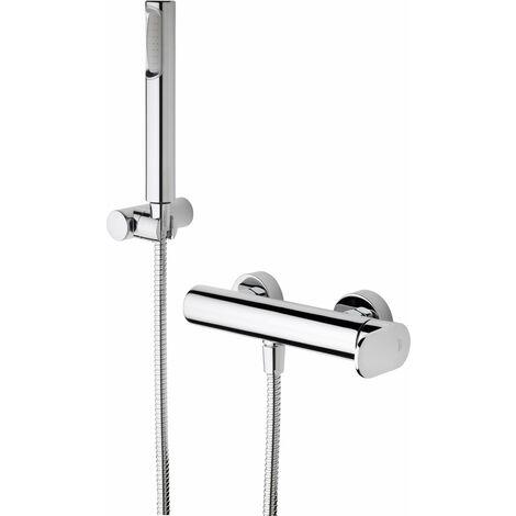 Mezclador para ducha con set de ducha Paffoni Candy CA168D | Cromo