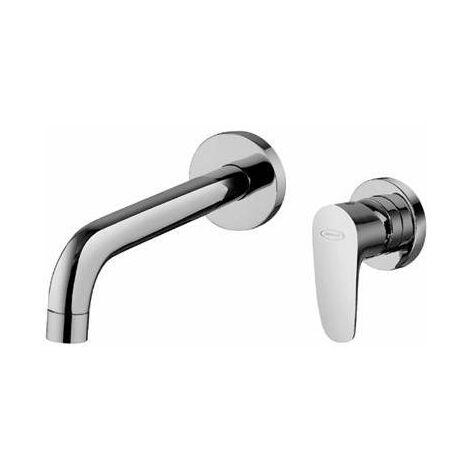 Mezclador para lavabo a pared empotrado Jacuzzi rubinetteria Alba 0LB00497JA01