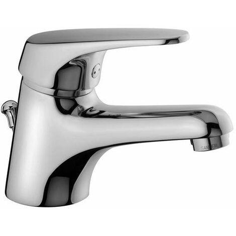 """Mezclador para lavabo con desagüe 1''1/4 Piralla Nuvola 0NU00088A16   Cromo - Desagüe automático 1""""1/4"""