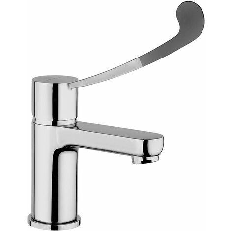 Mezclador para lavabo con maneta médica Piralla Riflesso 0RI00088B16 | Cromo