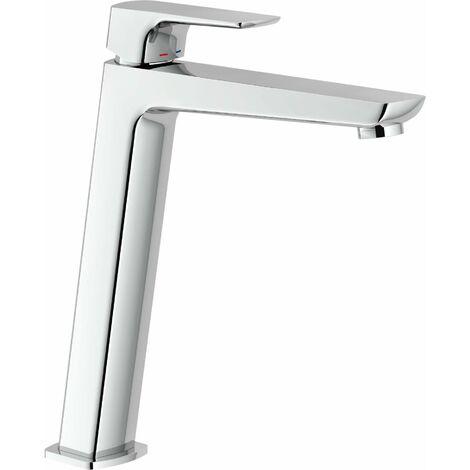 """Mezclador para lavabo cuerpo alto Nobili acquaviva VV103128/2   Cromo - Desagüe 1""""1/4 con tapon click-clack"""