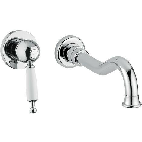 Mezclador para lavabo empotrado Bugnatese Oxford 6345 - 6346