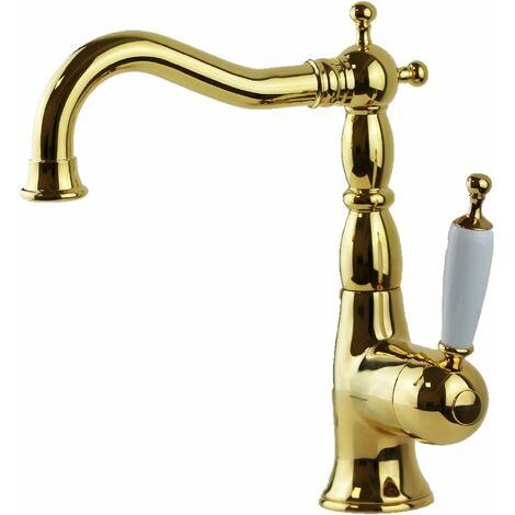 mezclador para lavabo sin desagüe bugnatese oxford 6313S