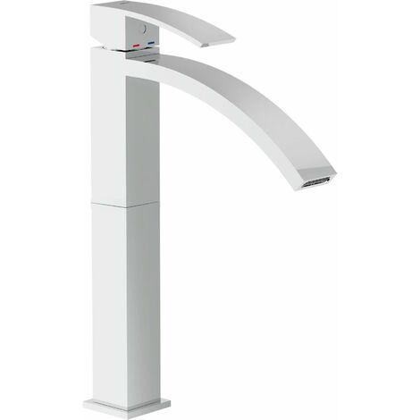 """Mezclador para lavabo sobre columna Nobili Ray RY00128/1CR   Cromo - Desagüe 1""""1/4 con tapon click-clack"""