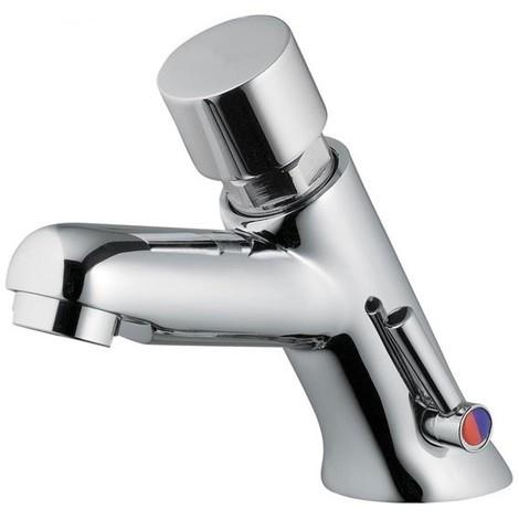 Mezclador temporizado con pulsador para lavabo colección MODERN IDRAL 08212