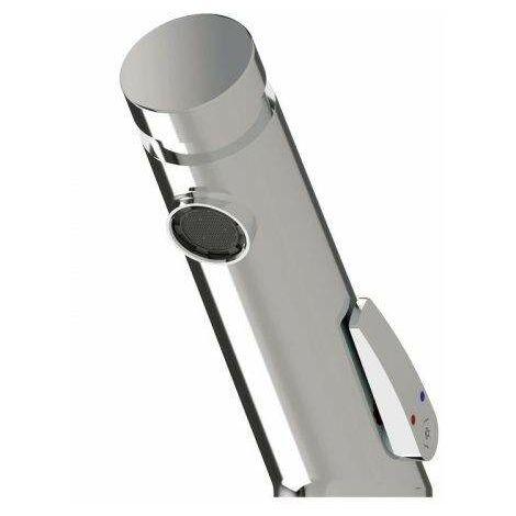 Mezclador temporizado para lavabo con pulsador Idral 845.12   Cromo