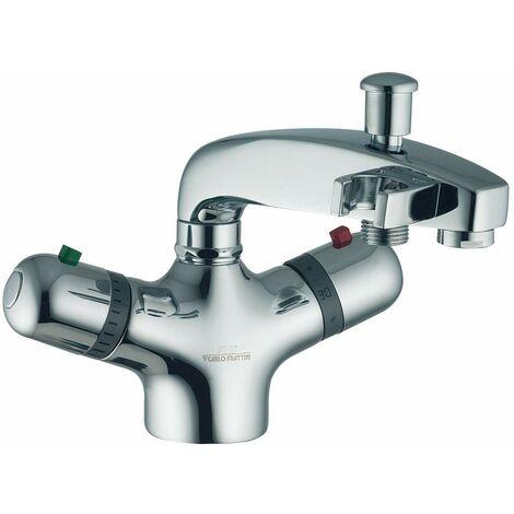 Mezclador termostático de baño y ducha, un solo agujero