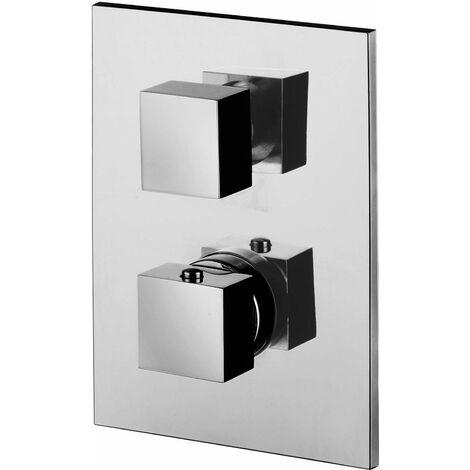 Mezclador termostático de ducha empotrable 1 vía Paffoni Level LEQ513