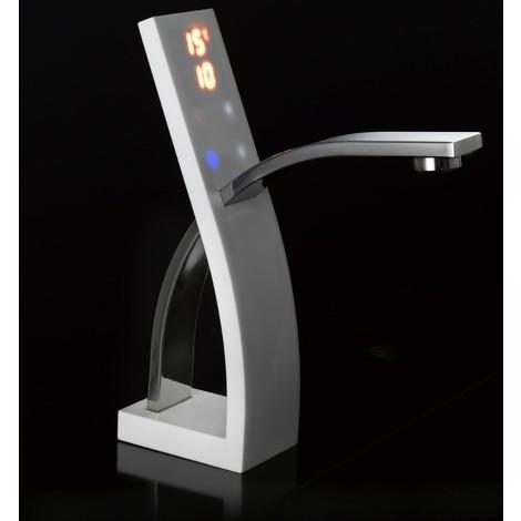 Mezclador termostático electrónico para lavabo Equa ETAP01