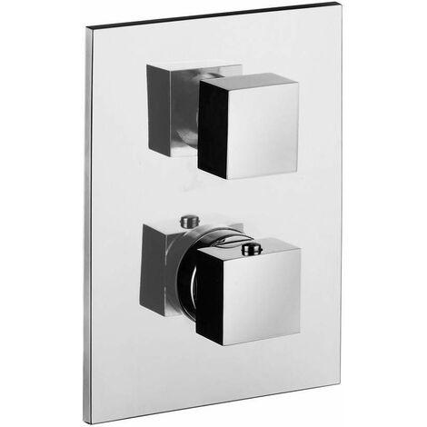 Mezclador termostático empotrado 3 salidas Paffoni Level LEQ519