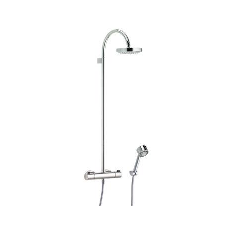Mezclador termostático Keuco Elegance 51626, con ducha de cabeza, cromado - 51626010200