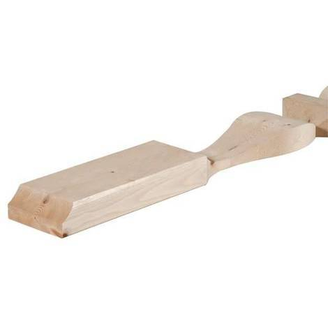 Mezze colonne sagomate in abete | Legno - 360604