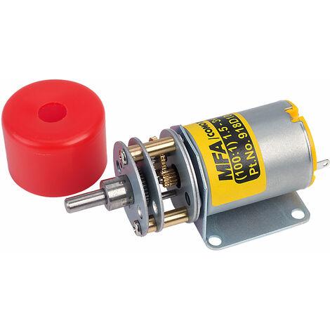 MFA 918D1001/1 Gearbox Motor 100:1 4mm Shaft 1.5-3V