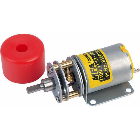 MFA 918D100112/1 Gearbox Motor 100:1 4mm Shaft 12-24V