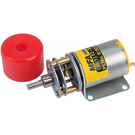 MFA 918D30112/1 Gearbox and Motor 30:1 4mm Shaft 12-24V
