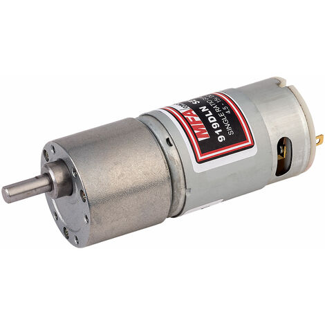 MFA 919D8101LN Gearbox and Motor 810:1 6mm Shaft 4.5 to 15V