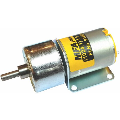 MFA Gearbox and Motor 1024:1 4mm Shaft 1.5-3.0V