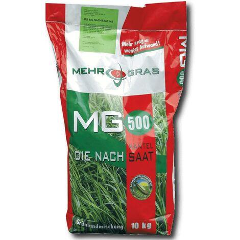 MG 500 prairie, réensemencement, semences enrobées 10 kg graines de pâturage, graines de graminées, semences, pâturage fauché