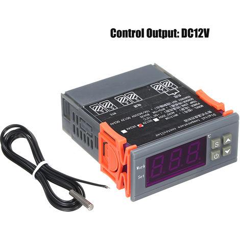 "main image of ""MH-1210W Intelligent Digital Temperature Controller Heating/Cooling Temperature Control Thermostat Regulator"""