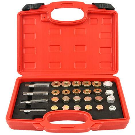 MH3002 Ensemble de reparation de filetage de carter d'huile 64 pieces/ensemble de reparation de filetage de carter d'huile 64 pieces