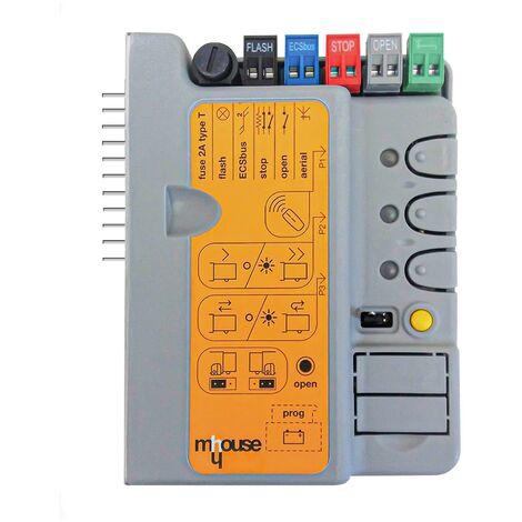 Mhouse - CL1 - Carte électronique pour motorisations de portail SL1 et SL10 - Noir