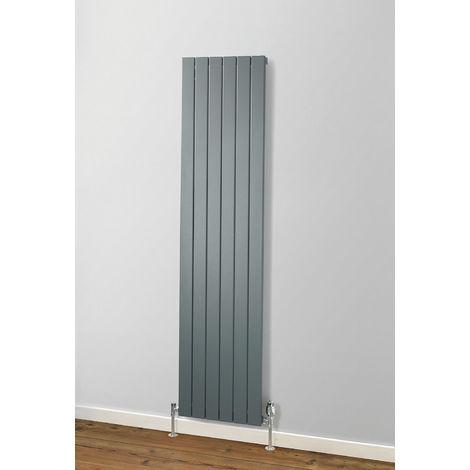 MHS Rads 2 Rails Primrose Single Panel Vertical White Radiator 1800x505mm