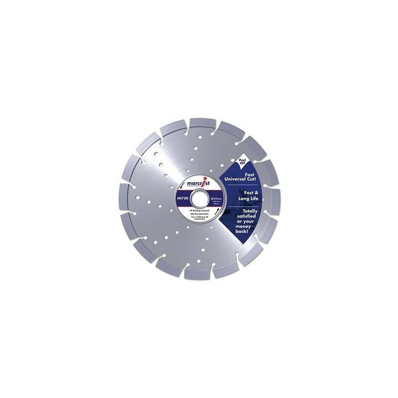 Image of 1111.0350.25 Mi750 Diamond Blade Long Life Universal Cut 350mm x 25.4mm - Marcrist