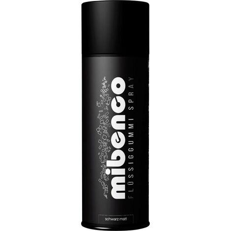 """main image of """"mibenco Caoutchouc liquide en spray Couleur noir (mat) 71429005 400 ml A046971"""""""