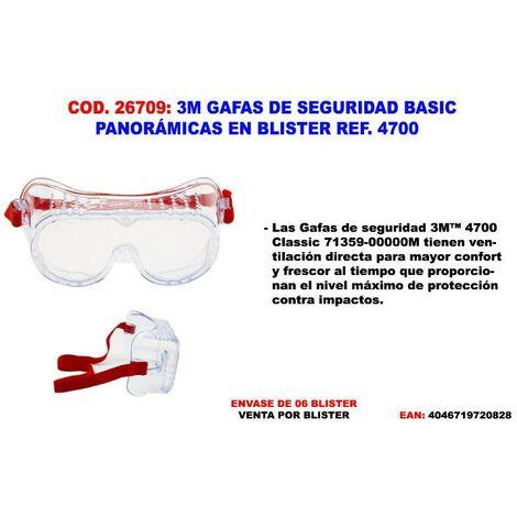 MIBRICOTIENDA 3m gafas seguridad basic 4700 pc