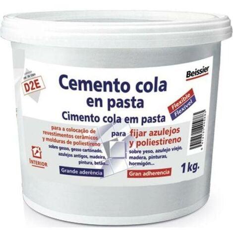 MIBRICOTIENDA aguaplast cemento cola en pasta tarro 1 kg 70165-002