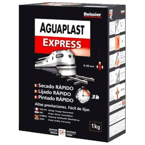 MIBRICOTIENDA aguaplast express plaste en polvo caja estuche 1 kg 70032-003