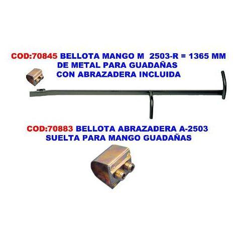 MIBRICOTIENDA bellota mango m 2503-r 1365 mm con abrazadera metal guadañas