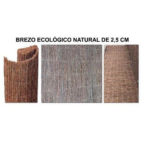 MIBRICOTIENDA brezo ecologico 1 cm ocultacion 2,00 x 5 metros el rollo
