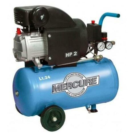 MIBRICOTIENDA compresor 24 lts.2.hp-1,5 kw coaxial con aceite rc2-24 cm2