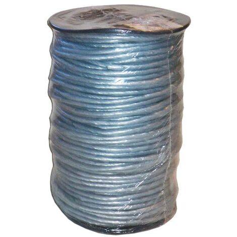 MIBRICOTIENDA cuerda plastico forrado 5 mm x 100 metros blanco pc09