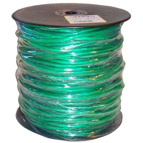 MIBRICOTIENDA cuerda plastico forrado 5 mm x 100 metros verde pc07