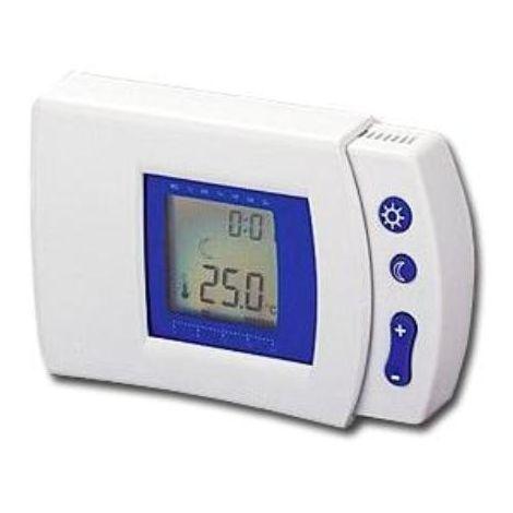 MIBRICOTIENDA electricidad cronotermostato digital semanal programable 90006