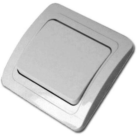 MIBRICOTIENDA electricidad interruptor-conmutador aluminio blister 52045