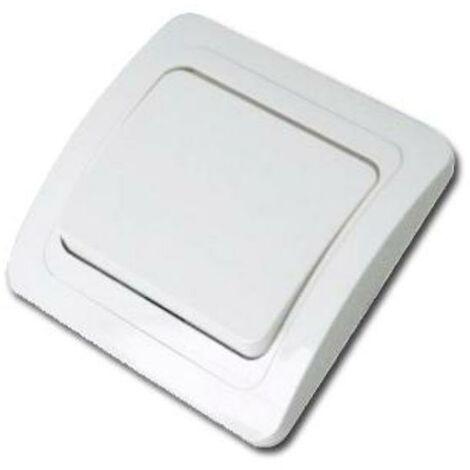MIBRICOTIENDA electricidad interruptor-conmutador blanco retractilado 20123