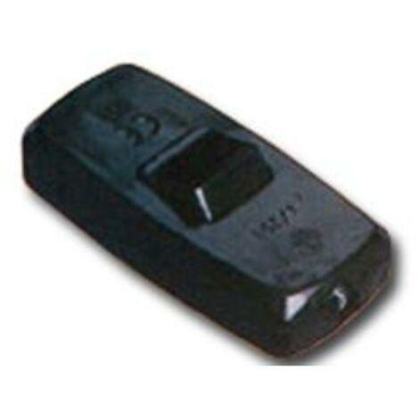 MIBRICOTIENDA electricidad interruptor de paso 4a-250v negro blister 16001