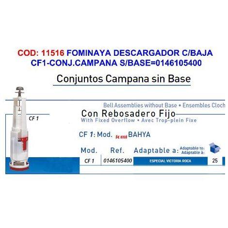 MIBRICOTIENDA fominaya descargador c-baja cf1-conj.campana s-base 0146105400