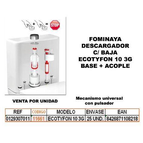 MIBRICOTIENDA fominaya descargador c-baja ecotyfon 10 3g base+acopl 0129307011
