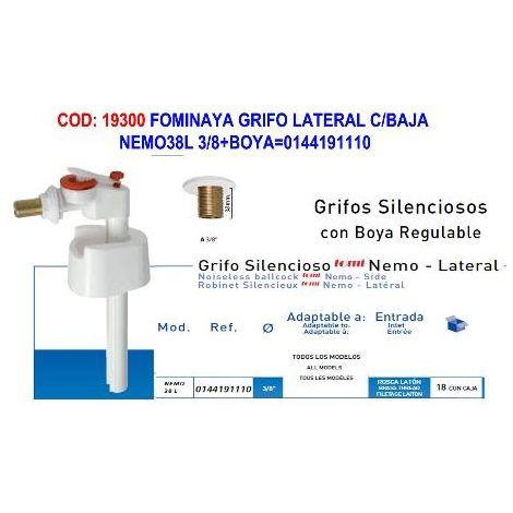 MIBRICOTIENDA fominaya grifo lateral c-baja nemo38l 3-8+boya 0144191110
