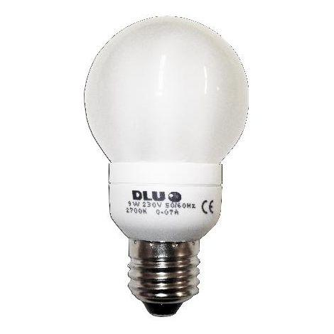 MIBRICOTIENDA luz dlu lampara electron.esferica 230v e27-9w calida fls84040