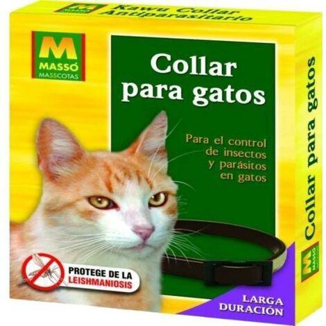 MIBRICOTIENDA masso collar antiparasitos gato 231215n